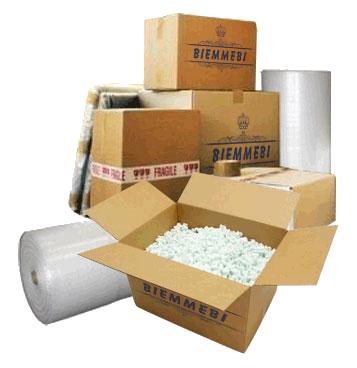 Etichette adesive per le scatole